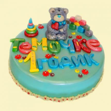 Детский торт №21