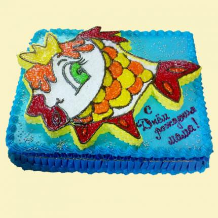 Детский торт №35