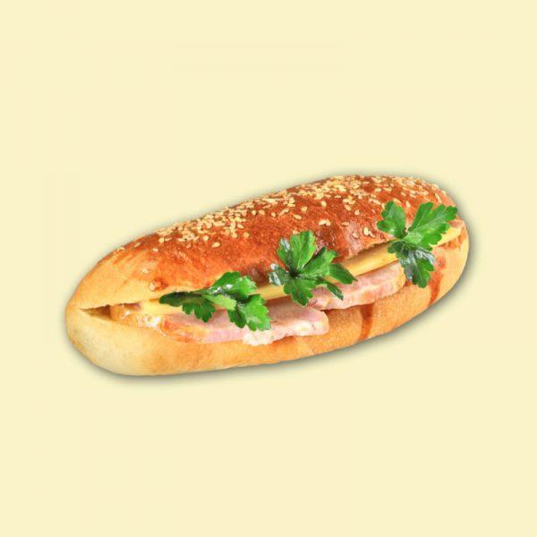 "Бутерброд ""Сэндвич"" с грудинкой 1/140"