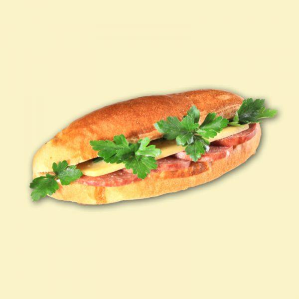 """Бутерброд """"Сэндвич"""" (колбаса, сыр) 1/140"""