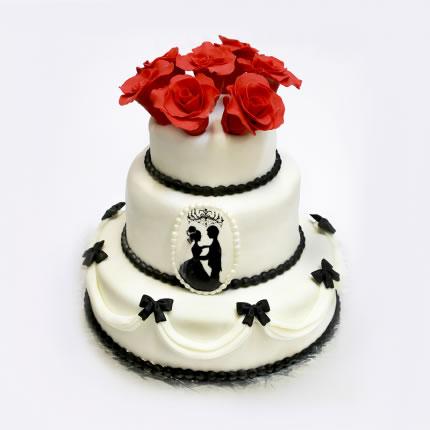 Свадебный торт №11
