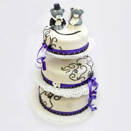 Свадебный торт №14