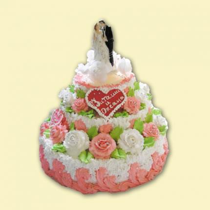 Свадебный торт №16