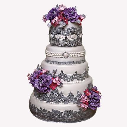 Свадебный торт №19