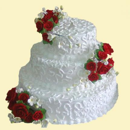 Свадебный торт №30
