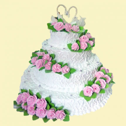 Свадебный торт №45